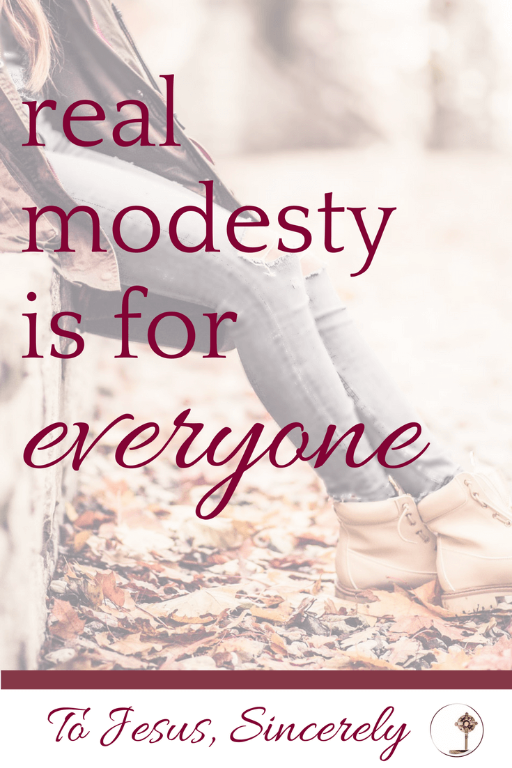 real modesty is for everyone