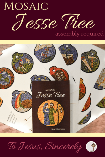 Mosaic Jesse Tree 3