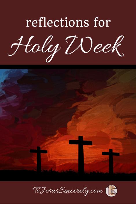 Holy Week Pinterest