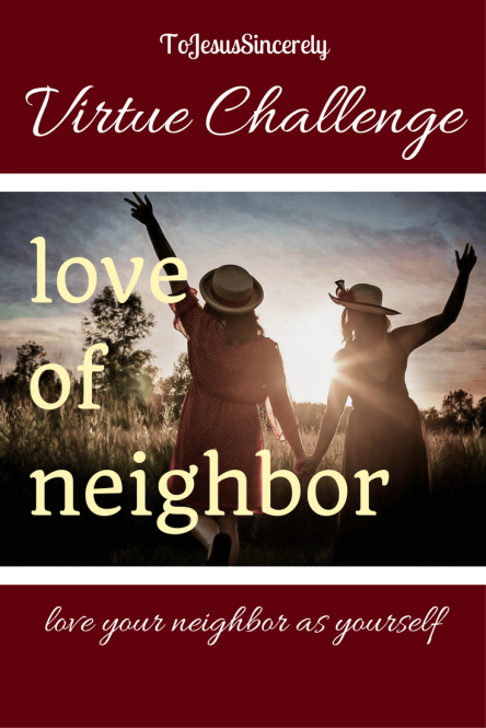 Pinterest Love Neighbor Challenge