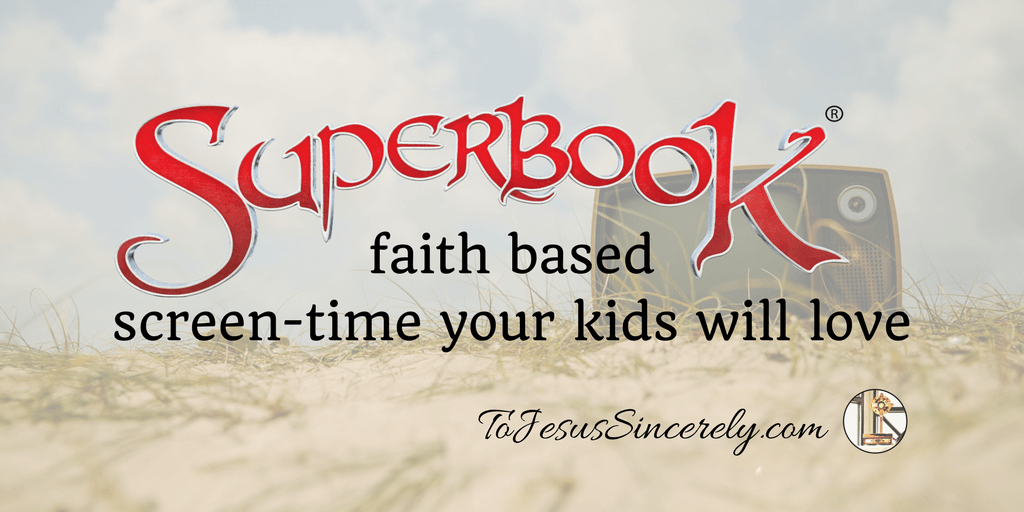 Superbook: Faith based screen-time your kids will love.