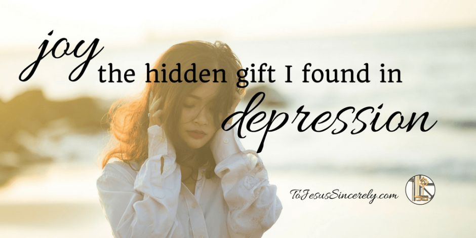 Lord, guard all those who suffer from depression today. Let them cling to the gift of joy. Give them renewed hope in Your Salvation. Bring them out of the darkness, and into the light of day. Amen.