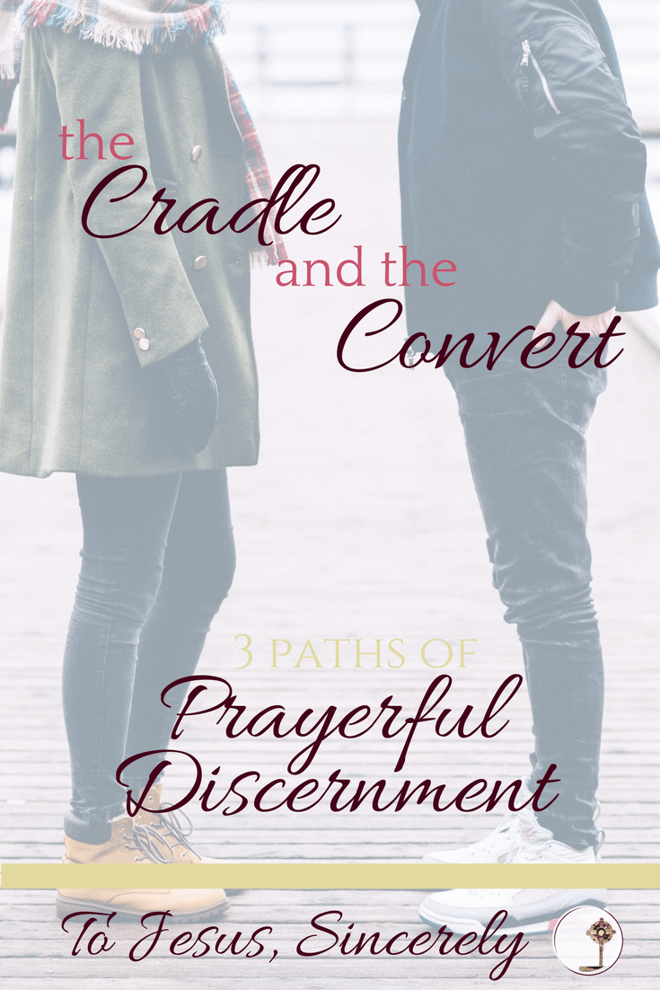 Today I'm sharing with you the story of my discernment process in dating and marriage. I started with a strong desire to date a good Catholic boy, but God had different and beautiful plans for my life.