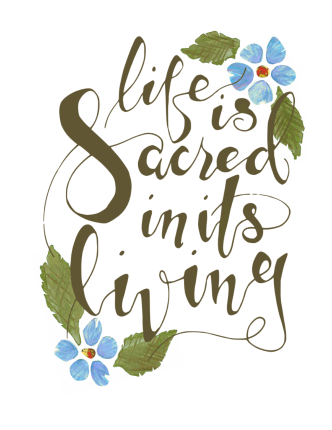 Life is Sacred in its living preview