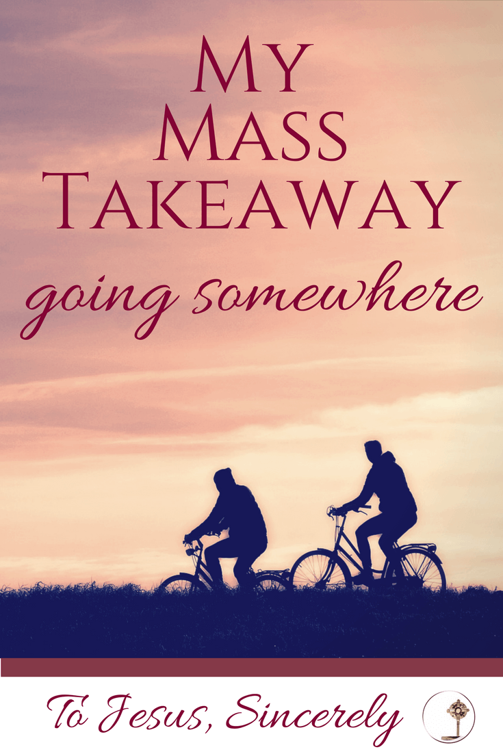 #MyMassTakeaway Going Somewhere