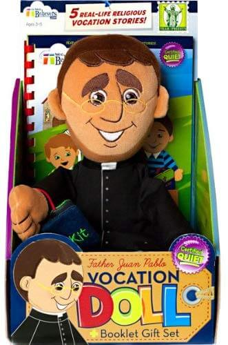 Fr Juan Pablo Wee Believers Priest Doll